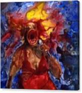 Wailing Blues Canvas Print
