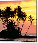 Wailua Bay, View Canvas Print