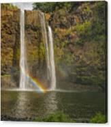 Wailua Falls Rainbow Canvas Print