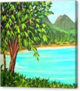 Waimanalo Beach Oahu #385 Canvas Print