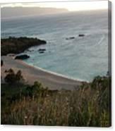 Waimea Bay And Kaiena Point Canvas Print