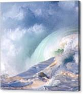 Waimea Bay Shorebreak Canvas Print