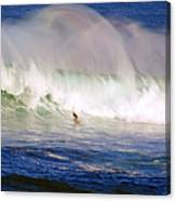Waimea Bay Wave Canvas Print
