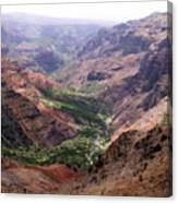 Waimea Canyon 1 Canvas Print
