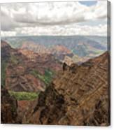 Waimea Canyon 4 Canvas Print