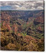 Waimea Canyon 7 - Kauai Hawaii Canvas Print