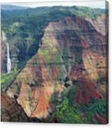 Waimea Canyon Kauai Canvas Print