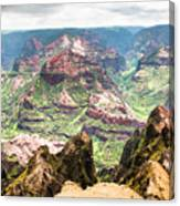 Waimea  Canyon Splendor,  Canvas Print