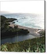 Waimea River And Bay Canvas Print