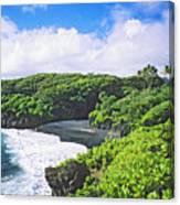 Wainapanapa State Park Canvas Print