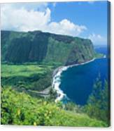 Waipio Valley Lookou Canvas Print