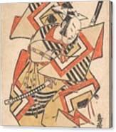 Wait A Moment  Torii Kiyotada  Japanese  Fl  Ca  1720  50 Canvas Print