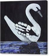 Wait A Second Swansong Canvas Print
