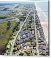 Waiting For You Topsail Island Canvas Print