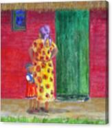 Waiting In Zimbabwe Canvas Print