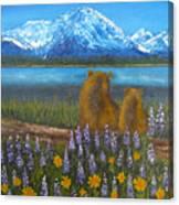 Waiting, 12x16, Oil, '07 Canvas Print
