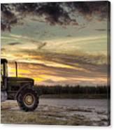 Waiting To Harvest  Canvas Print