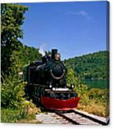 Wakefield Steam Train Canvas Print