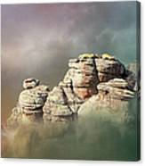 Waking Up In A Cloud Canvas Print