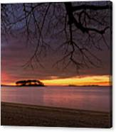 Sprite Island Sunrise Canvas Print