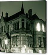 Waldorf College, The Centre For Science And Arts By Night Stround Gloucestershire Canvas Print