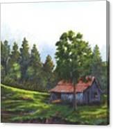 Walhalla Barn Canvas Print