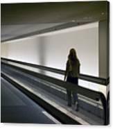 Walk-a-matic At Orlando Airport Canvas Print