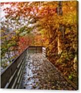 Walk Into Autumn Canvas Print