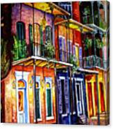 Walk Into The French Quarter Canvas Print