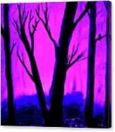 Walk Into The Light Canvas Print