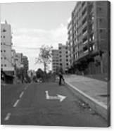 Walk On Quito Canvas Print