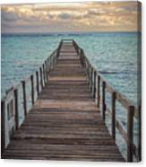 Walk On The Water Canvas Print