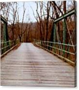 The Old Walk-or-ride Bridge Canvas Print