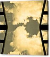 Walk The Sky Canvas Print