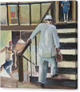 Walk Up Canvas Print