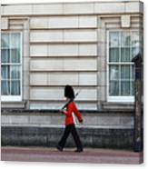 Walkabout In London Canvas Print