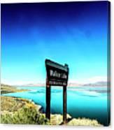Walker Lake Canvas Print