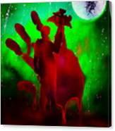 Walking Dead Daryle Canvas Print