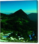 Walking In The Cascades Canvas Print