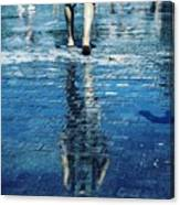 Walking On The Water Canvas Print