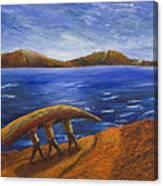 Walking The Curragh Canvas Print