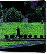 Walking With Purpose Canvas Print