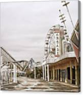 Walkway To The Arcade Canvas Print