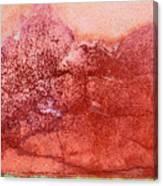 Wall As Mountain Landscape Canvas Print