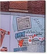 Wall Mural In Pontiac, Illinois Canvas Print