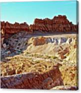 Wall Of Goblins In Carmel Canyon Trail In Goblin Valley State Park, Utah Canvas Print