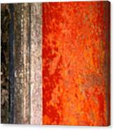 Wall With Red By Michael Fitzpatrick Canvas Print
