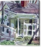 Wallis House Canvas Print