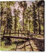 Wallowa Lake Foot Bridge Canvas Print