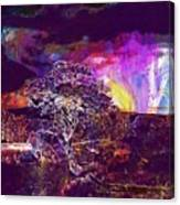 Wallpaper Background Jaguar Forest  Canvas Print